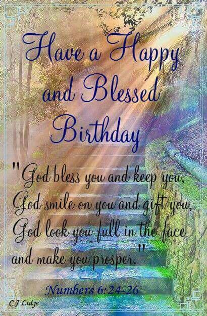 Happy Birthday blessing   Happy Birthday & other
