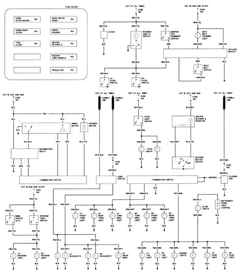 1989 mazda 323 wiring diagram wiring diagram with
