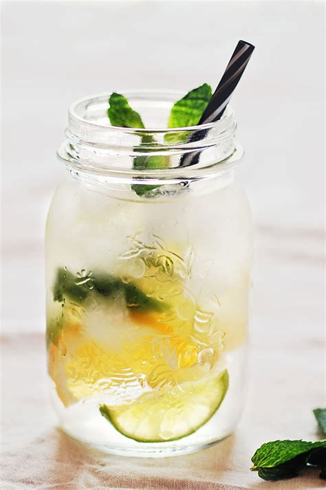Pineapple And Mint Detox Water by Pineapple Mint Detox Water