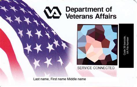 va cards veteran identification card