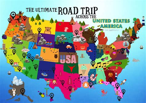 road trip america map wizard road trip map usa arabcooking me