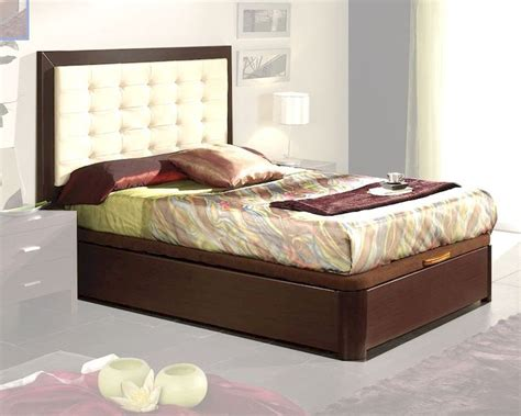 modern style beds modern style bed in wenge finish made in spain 33b12