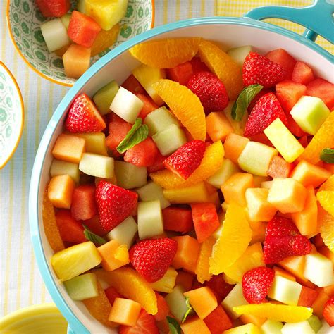 fruit bowl fresh fruit bowl recipe taste of home