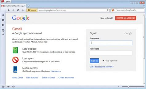 Gmail Login Home Page by Gmail Login Page Ghacks Tech News