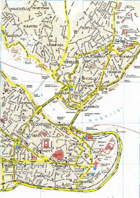printable map of istanbul turkey istanbul map detailed city and metro maps of istanbul
