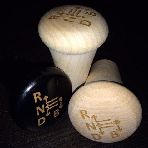 Baseball Shift Knob by Wood Baseball Bat Shift Knob