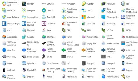 visio shapes in powerpoint vmware visio stencils and powerpoint icons 2018 by