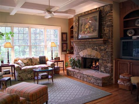 rustic family rooms traditional living space photos hgtv