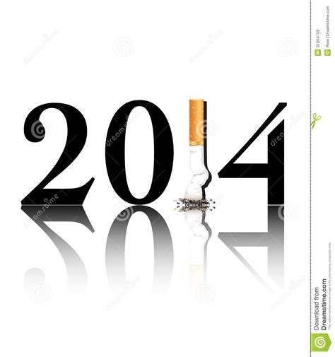 quit smoking 2014 royalty free stock images image 31004759