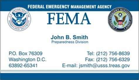 Fema Business Card Template by Business Continuity Template Risk Assessment Welcome