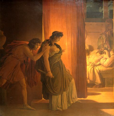 libro oeuvres themes narcisse clytemnestra c 1817 pierre narcisse guerin wikiart org