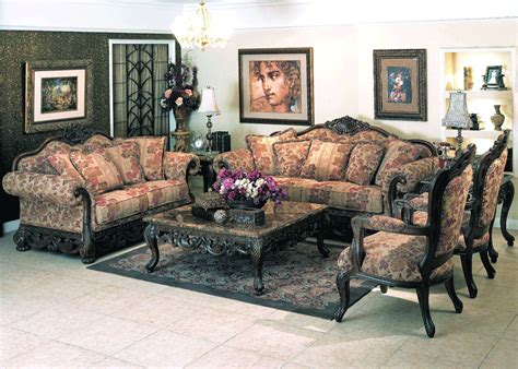 Ellianor Traditional Sofa Set Y23 Traditional Sofas