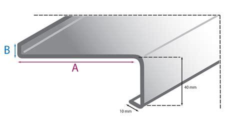 fensterbleche alu au 223 enfensterb 228 nke aluminium classic onlinekonfigurator