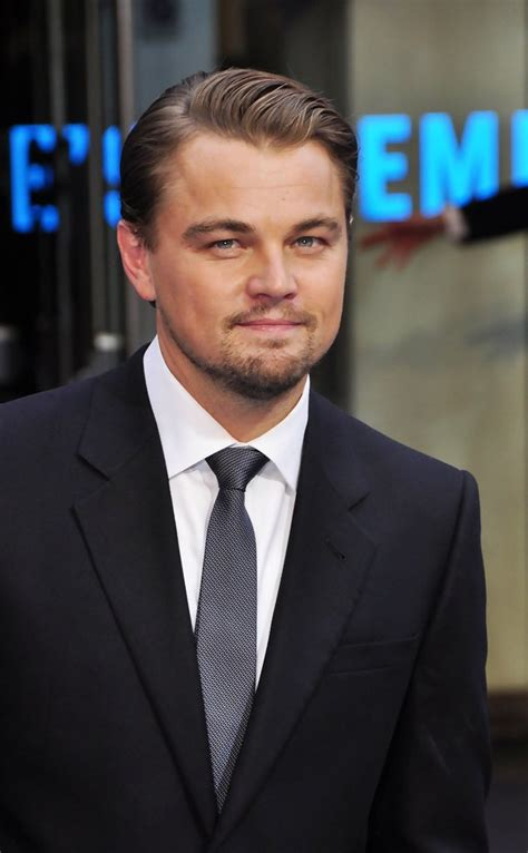 what is leonard dicaprio hairstyle called leonardo dicaprio short side part short side part