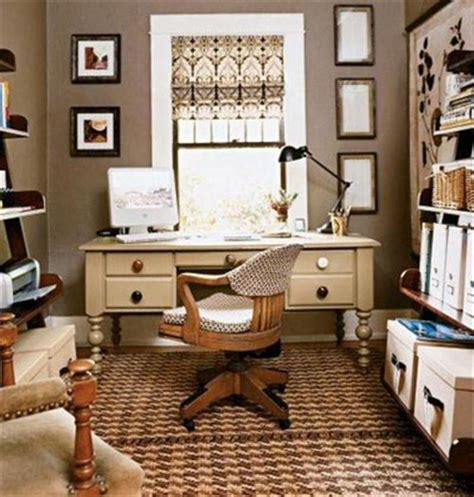 Home Office Decorating Ideas Small Spaces | variety of small home office space design and decorating