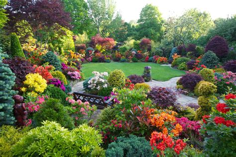 Drelis Gardens Four Seasons Garden The Most Beautiful Flower Garden Scenery