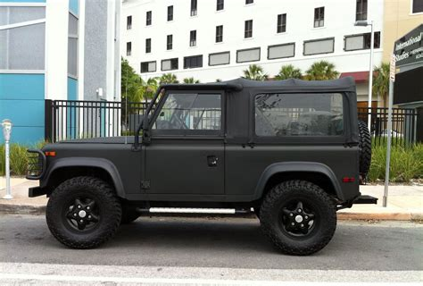 land rover matte matte defender guns auto and tough stuff