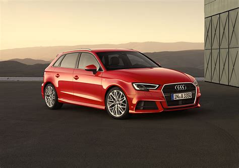 audi germany 2017 audi a3 facelift configurator launched in germany s3