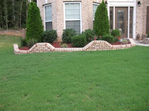 brick flower bed flower beds designs brick pdf