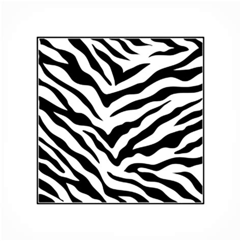 buy stencil 6in x 6in zebra print