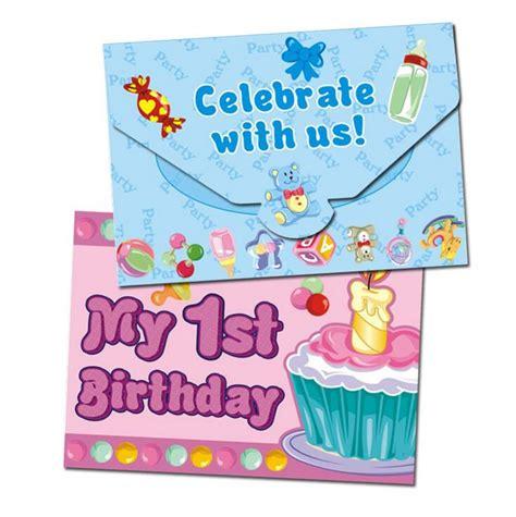 1 year birthday invitation sle 1st birthday ideas to make this occasion