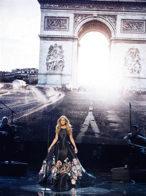 celine dion paris tribute celine dion pays tribute to victims of paris attacks at