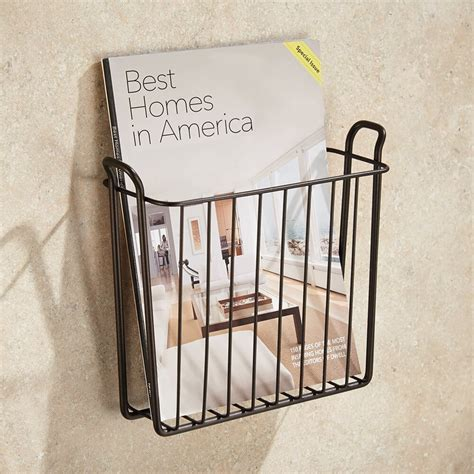 Wire Magazine Rack Wall Mount by 23 Best Bathroom Magazine Rack Ideas To Save Space In 2017