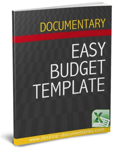 documentary template documentary budget template pack