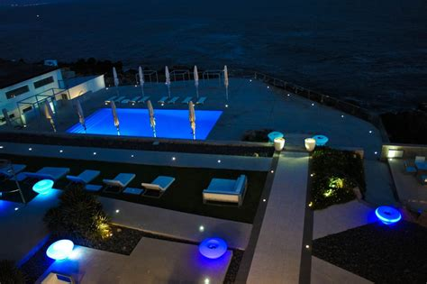 outdoor designer lighting impressive swimming pool lights pool lighting ideas and