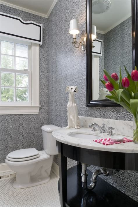 designer bathroom wallpaper 37 inspirational ideas to design a guest toilet digsdigs