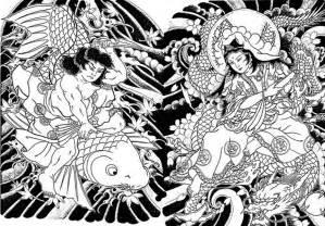 coloring japan 3