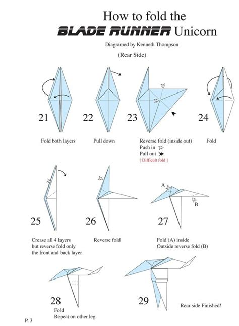How To Make An Origami Unicorn - 19 best images about origami unicorn on