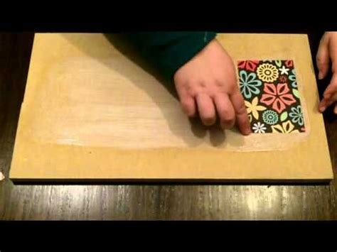 Decoupage Without Wrinkles - diy basics decoupage paper without wrinkles or bubbles