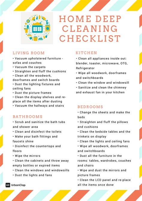 deep cleaning house checklist how to clean like a pro the ultimate home deep cleaning