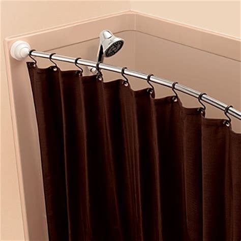 small shower curtain rod rotating curved shower curtain rod