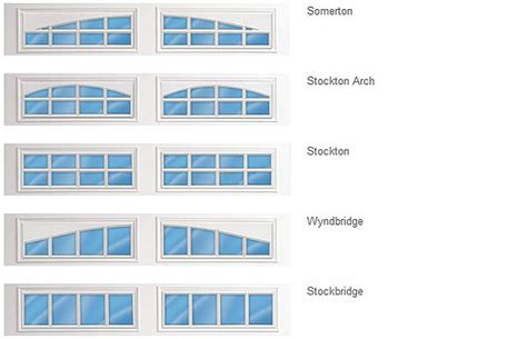 garage doors grooved ranch panel total home windows and