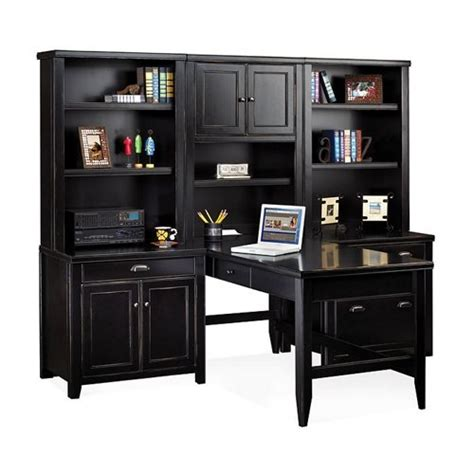 Distressed Office Desk Black Distressed Office Furniture Office Furniture American Appliances Furniture