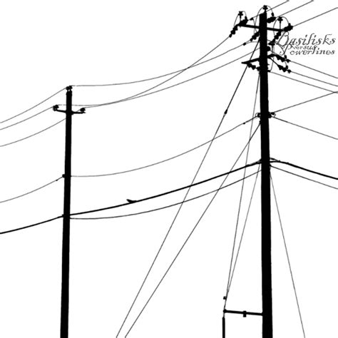 power lines drawing clipart best