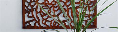 tuinmuur decoratie tuinmuur decoratie van cortenstaal van a concepts