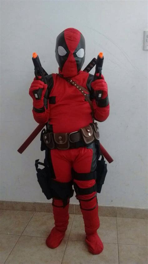 disfraces dead pool disfraz de deadpool 209 i 241 o con todo incluido cosplay anime