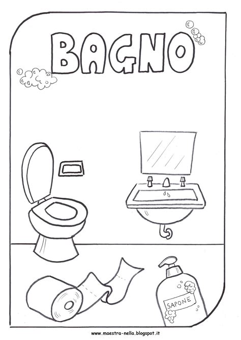 disegni di bagni piccoli bagno bambini disegno comorg net for