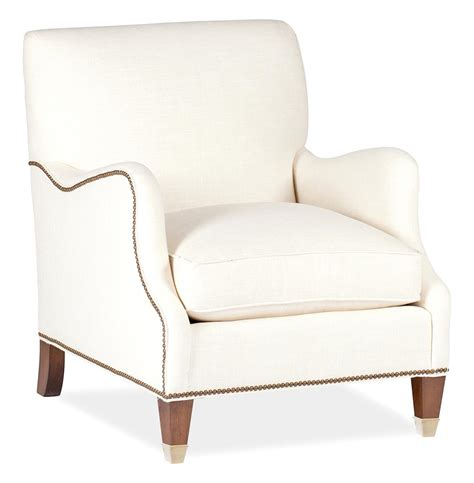 Nailhead Arm Chair Design Ideas Lincoln Saddle Arm Brass Nailhead Classic Arm Chair Kathy Kuo Home