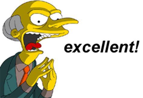 Mr Burns Excellent Meme - arch omegle time