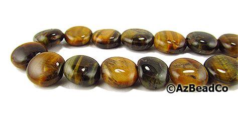 arizona bead company arizona bead company tiger eye 10mm flat rounds