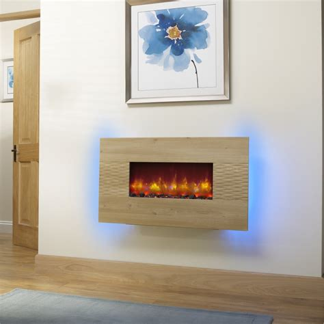 hton electric fireplace essential fireplaces deluxe 36 inch wall mounted electric