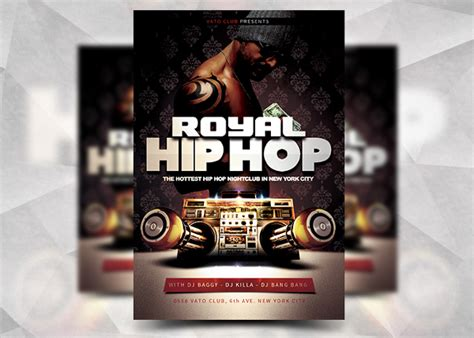 free hip hop flyer templates 17 hip hop flyer templates free psd ai vector eps