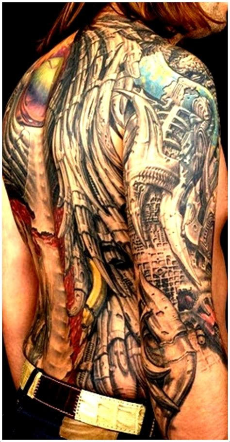 tattoo biomechanical back biomechanical tattoos and designs page 119