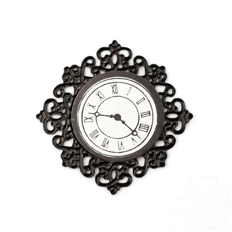 Curtains For Dining Room Windows e3585 black fancy wall clock online dolls house superstore