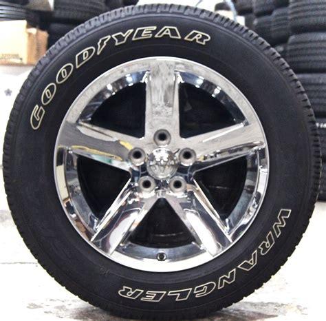 20 Inch White Letter Tires