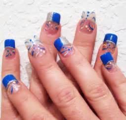 blue nail art page 3 funnystack com